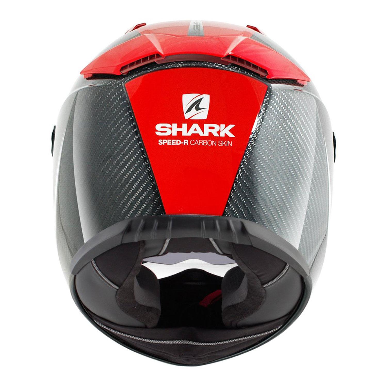 shark speed r series 2 carbon run intergralhelm schwarz rot weiss gr e xl online shop. Black Bedroom Furniture Sets. Home Design Ideas