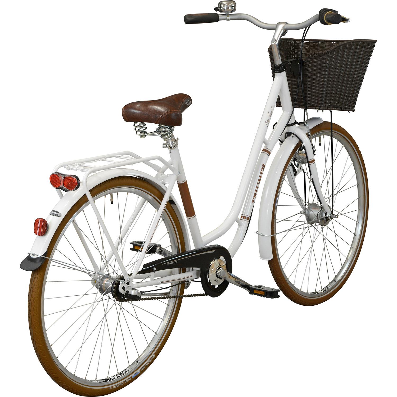 triumph city tour 3 city bike wei 28 zoll 53 cm. Black Bedroom Furniture Sets. Home Design Ideas