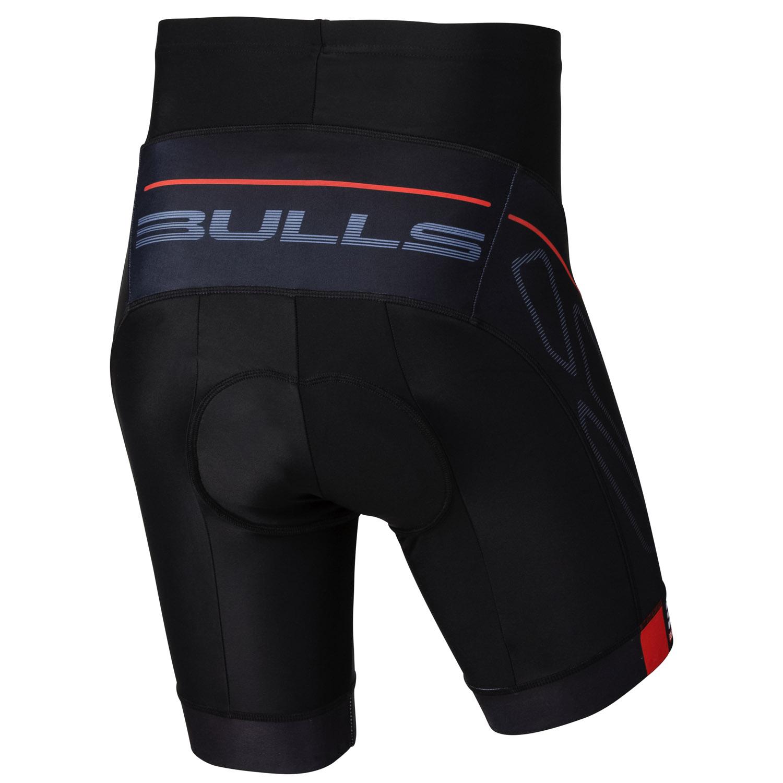 bulls competition 2 0 fahrradhose herren schwarz grau. Black Bedroom Furniture Sets. Home Design Ideas