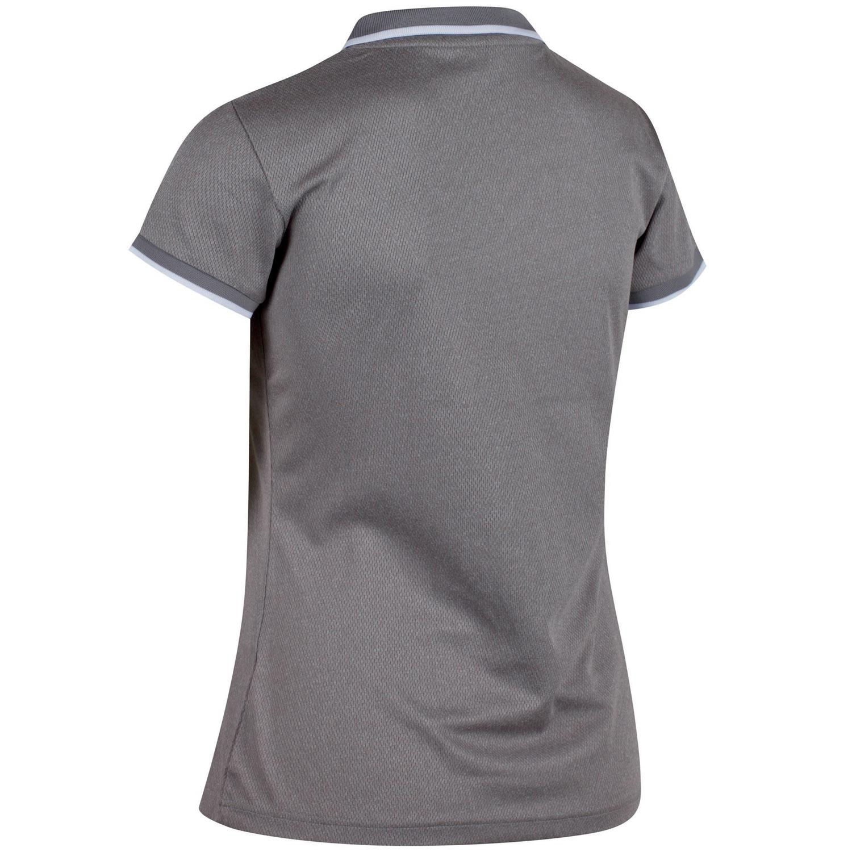 regatta remex polo shirt damen fiery coral meliert gr e 40 online shop zweirad stadler. Black Bedroom Furniture Sets. Home Design Ideas