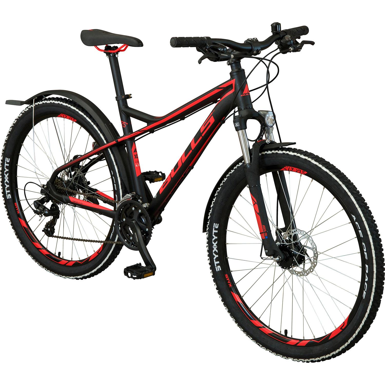 bulls racer street 27 5 zoll mountainbike schwarz blau 46 cm online shop zweirad stadler