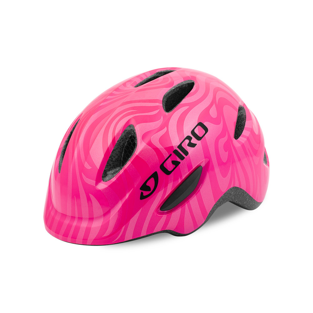 giro scamp kinder fahrradhelm bright pink gr e xs 45 49. Black Bedroom Furniture Sets. Home Design Ideas