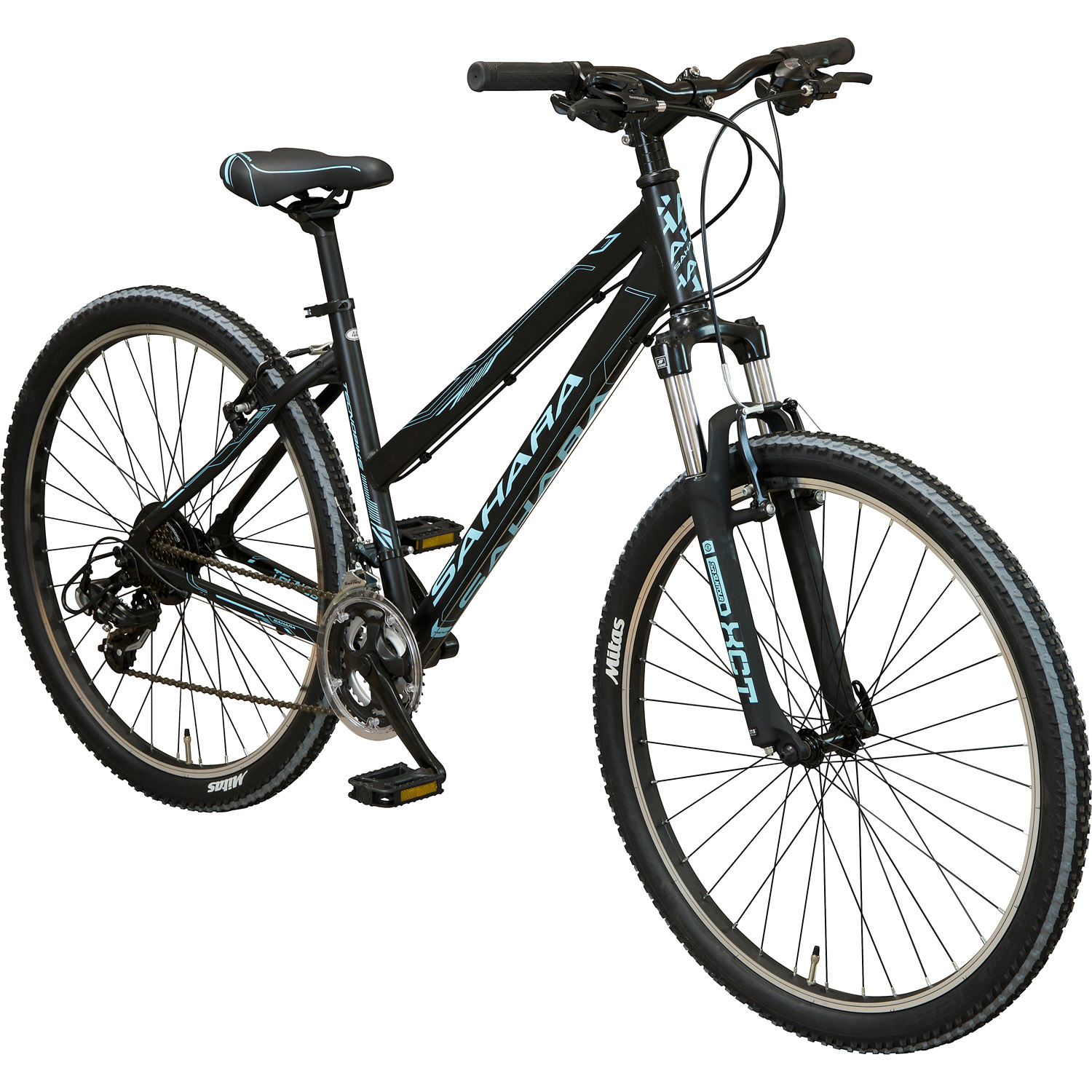 tecnobike sahara mountainbike 27 5 zoll hardtail 38 cm. Black Bedroom Furniture Sets. Home Design Ideas