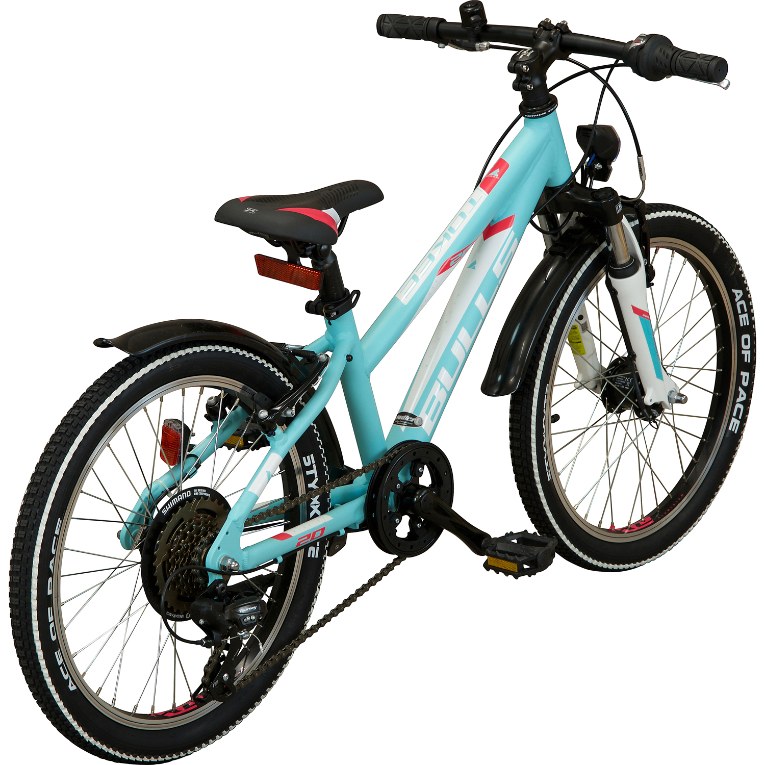 bulls tokee street 20 kinderfahrrad blau online shop. Black Bedroom Furniture Sets. Home Design Ideas
